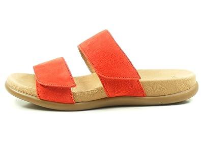 Gabor 83-708 Schuhe Damen Sandalen Best Fitting Pantoletten, Schuhgröße:42;Farbe:Grau