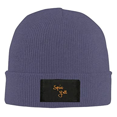 bdda0113d76 ZhangYin Spice Y all Hot New Winter Hats Knitted Twist Cap Thick Beanie Hat  Navy