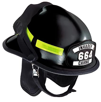 Msa 664xdb Cairns Fire Helmet With Ess Goggles Deluxe Leather With