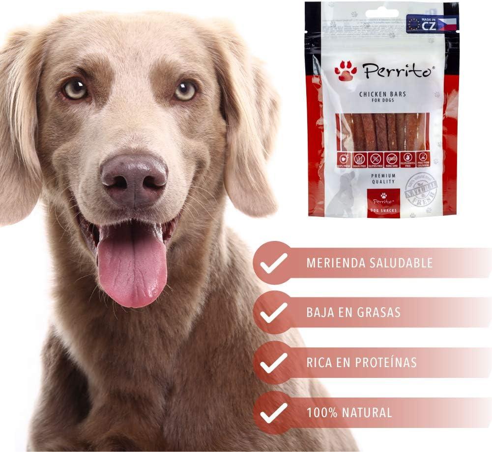 Rc Ocio Chuches para Perros sin Cereales Pack 3 Bolsa de premios Snacks Naturales sin conservantes ni colorantes golosinas Snack Premium para Perro ...