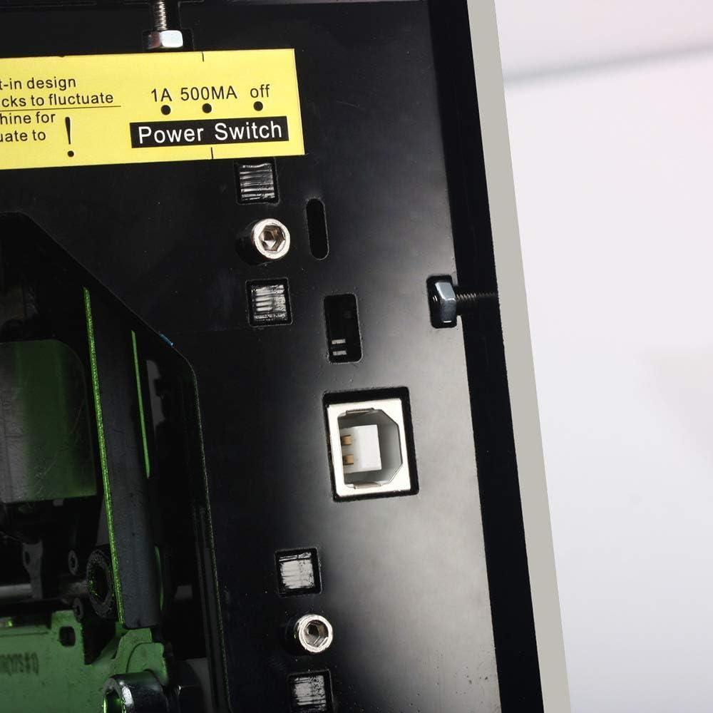 Slinlu máquina grabadora de 1500 MW para Bricolaje, USB CNC Router ...