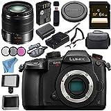 Panasonic Lumix (DC-GH5S) Mirrorless Micro Four Thirds Digital Camera Lumix G Vario 14-140mm f/3.5-5.6 ASPH. POWER O.I.S. Lens (Black) Bundle
