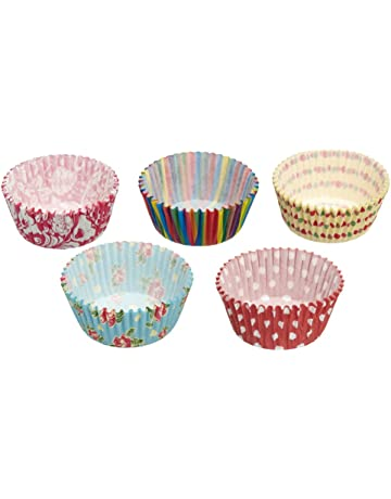 Kitchen Craft Sweetly Does It - Moldes para magdalenas (250 unidades), varios colores