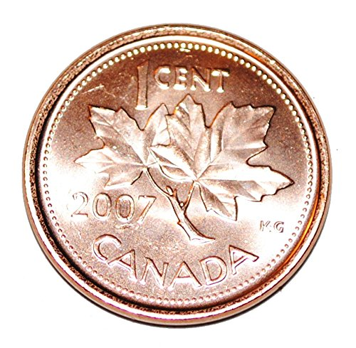 2007 1 Cent Canada Steel Nice Uncirculated Canadian for sale  Delivered anywhere in Canada