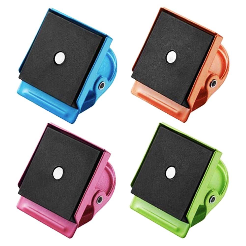 Amazon.com: 4 clips magnéticos de metal, imanes, imanes de ...