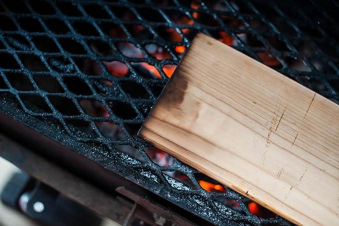 Amazon.com: Tablas de cedro para la parrilla, paquete de 12 ...