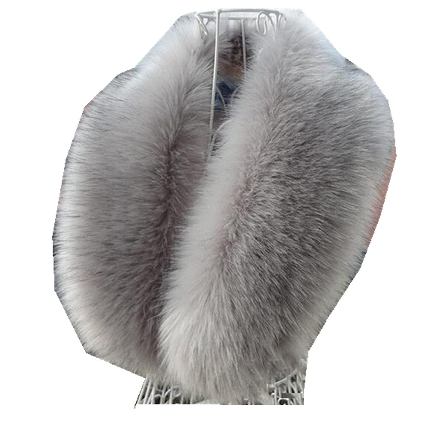 shpinmall-Fur Collar ACCESSORY レディース B016FIHXXM  ライトグレー 80-100cm