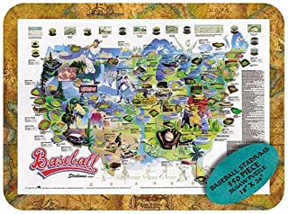product image for Channel Craft Puzzle Tin Baseball 550 Piece Jigsaw Puzzle