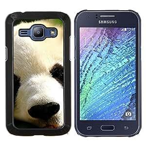 - FURRY MUZZLE PANDA ANIMAL CUTE JAPANESE - Caja del telšŠfono delgado Guardia Armor- For Samsung Galaxy J1 J100 J100H Devil Case