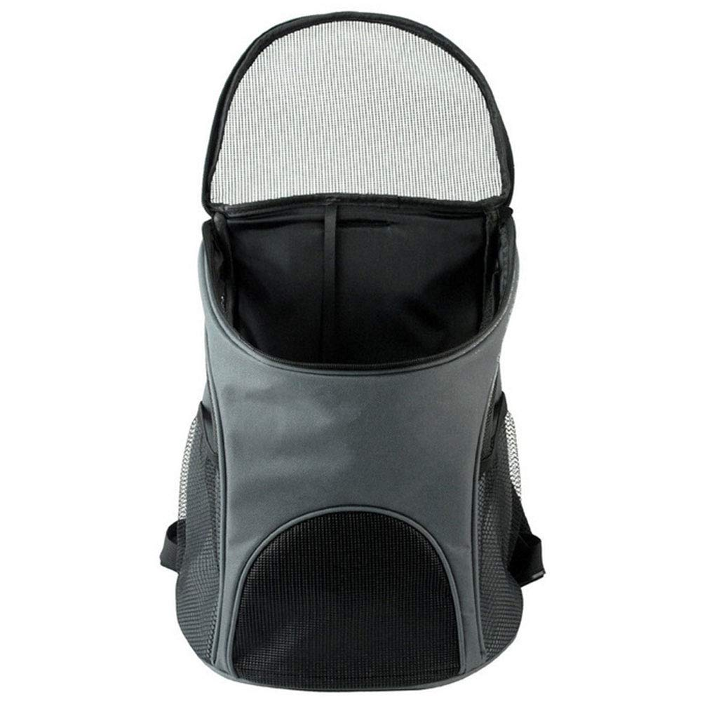 HAOJINFENG Dog Special Carrying Bag Car Cage Breathable Dog Backpack Out Portable Portable Travel Bag