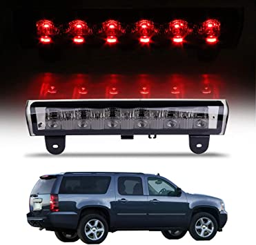 For 2000-2006 GMC Yukon,Yukon XL 1500 Smoke Lens LED Third Brake Light NEW