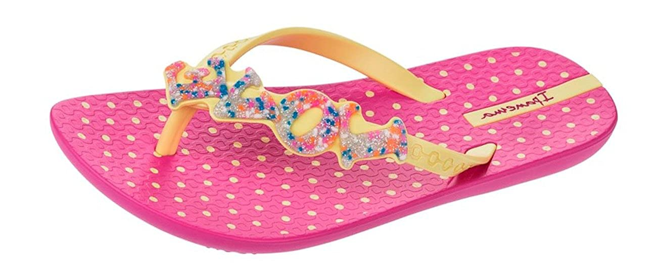 Ipanema Little Love Filles Tongs/Sandales 81714BPINKYELLOW