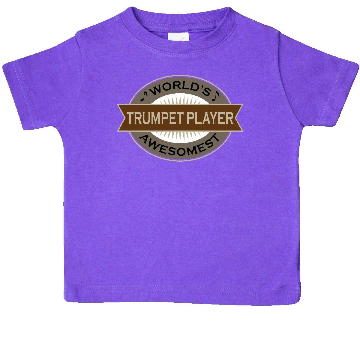 Inktastic Worlds Awesomest Trumpet Player Baby T-Shirt