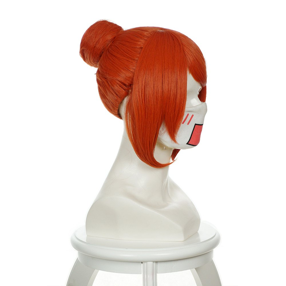 Amazon.com: Cfalaicos Short Orange Hair / Gintama Kagura Cosplay Wig: Beauty