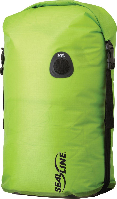 SealLine Bulkhead Compression Dry Bag, Green, 30-Liter