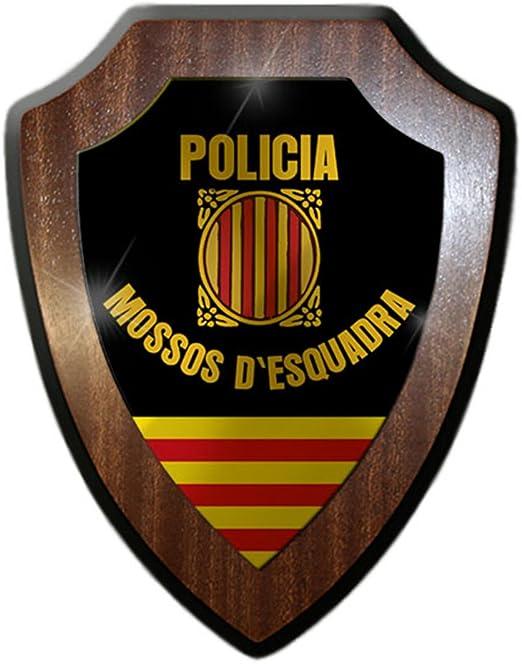 Escudo Cartel/pared Cartel – policia MOSSOS D esquadra de ...