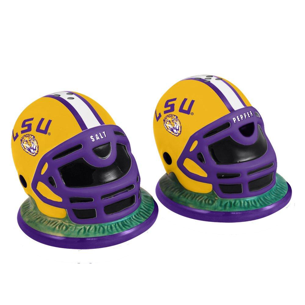 The Memory Company NCAA Louisiana State University Helmet Salt and Pepper Shakers