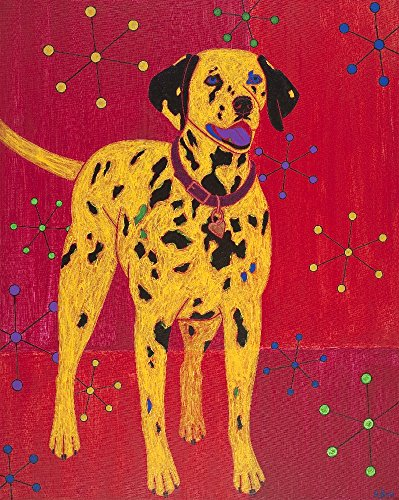 - Dalmatian Dog Art - Dalmatian Dog Print - Pop Art Dogs - Colorful Dog Print - by Angela Bond