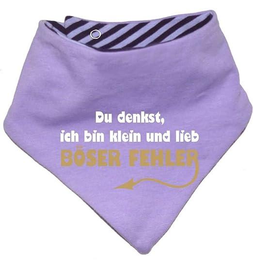 KLEINER FRATZ mitwachsendes Baby und Kinder Wende Halstuch Papas ganzer Stolz//in 7 Designs//Gr/ö/ßen 0-36 Monate