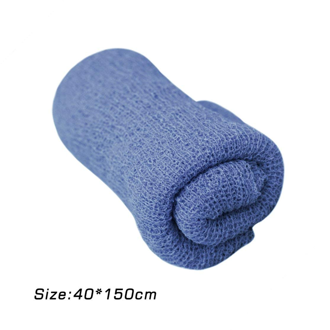 150cm Baby Photography Props Blanket Rayon Stretch Knit Wrap Newborn Photo Wraps Hammock Swaddling Padding Nubble Wraps 40