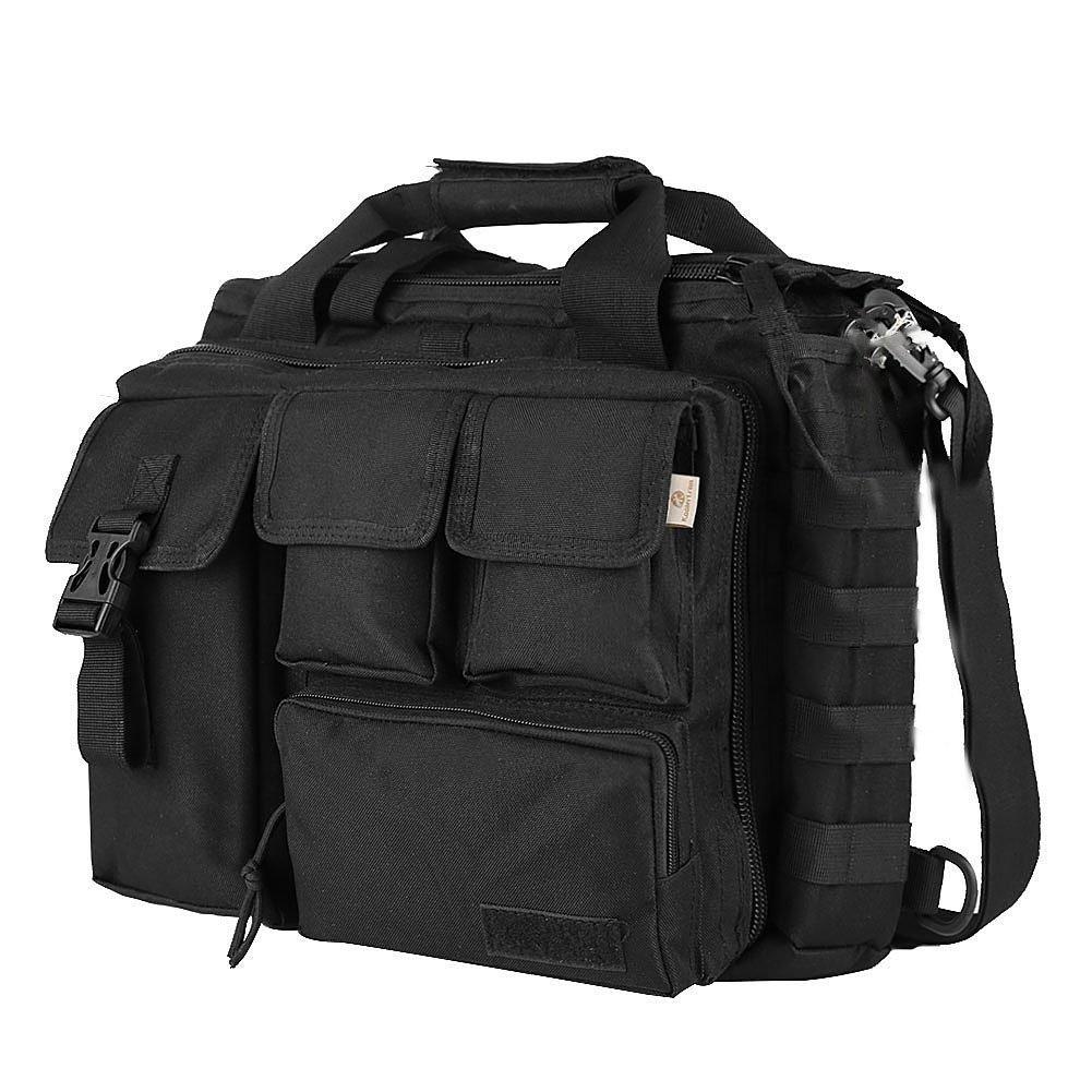 Sony Nikon R Olympus TOOGOO iPad Noir Canon Pro-multifonctions Hommes militaire en plein air Nylon sac a bandouliere sac a main sac a main grand suffisant pour 14 ordinateur portable