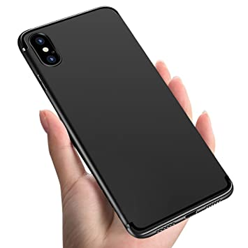 Funda iPhone XS, Funda iPhone X, Infreecs Carcasa iPhone XS Teléfono Móvil Ultra Fina Anti-Arañazos Anti-Shock Funda Suave TPU Gel Case Bumper ...