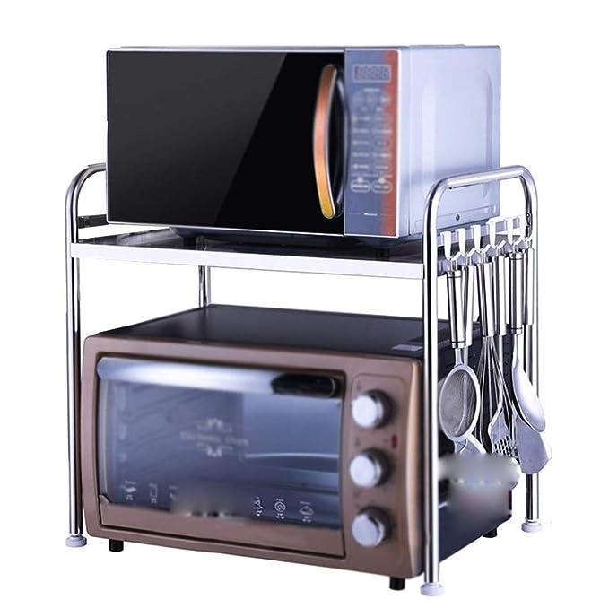 Amazon.com: Estante de cocina de acero inoxidable, para ...