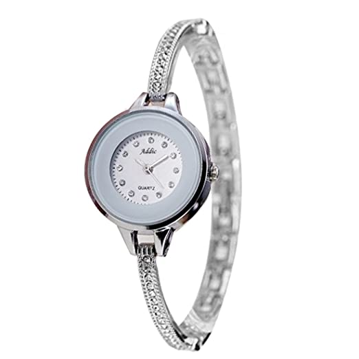 760caee603f Buy Addic Luxury Analog White Dial Women s Watch - AddicWW458 Online at Low  Prices in India - Amazon.in