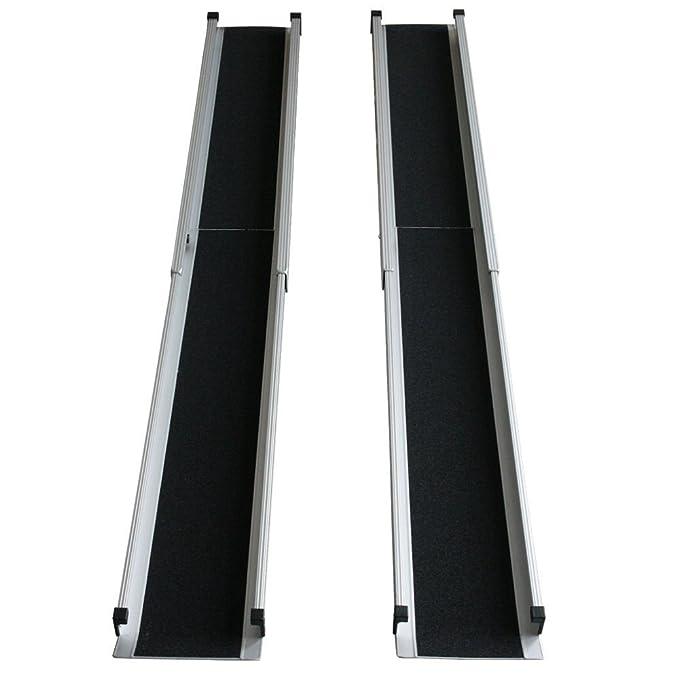 Jws - Rampa telescópica para silla de ruedas 213 cm [importado de alemania]: Amazon.es: Bricolaje y herramientas