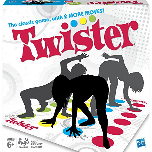 Hasbro Twister Game (Easy Card Games To Play By Yourself)