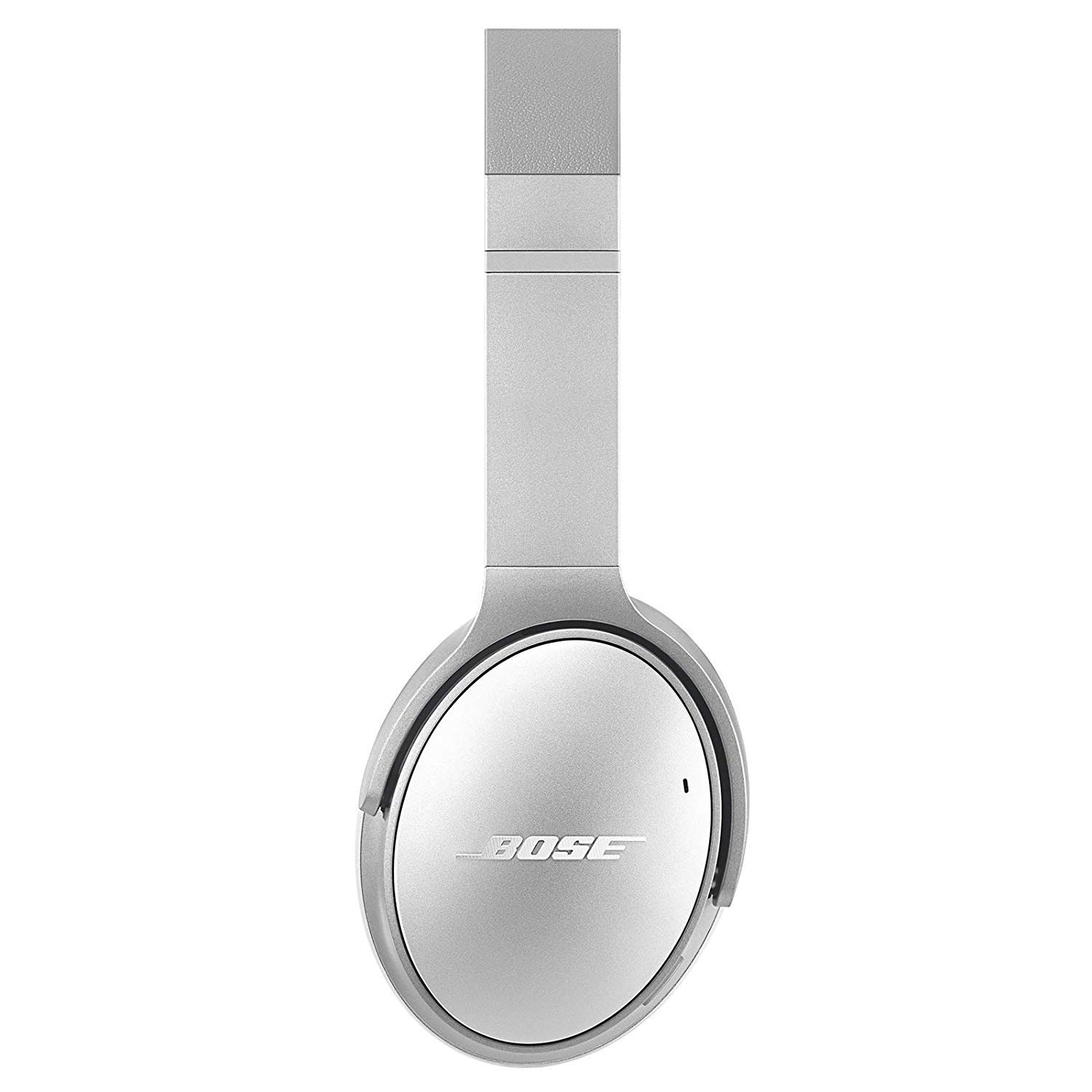 Bose QuietComfort 35 (Series II) Wireless Headphones, Noise Cancelling, with Alexa Voice Control - Silver + 1 Year Extended Warranty + Deco Gear 6.35mm to 3.5mm Adaptor Value Bundle by Bose