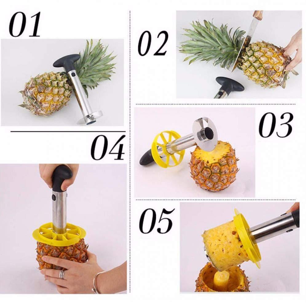 Zonster Frutta in Acciaio Inox taglierina Ananas Spirale Corer Cucina pelapatate pelapatate trituratore Facile Strumento di Accessori di Cucina