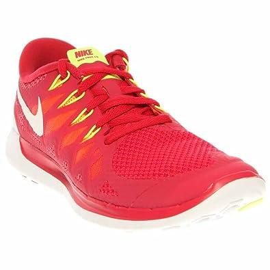 d7f5a5ae359f Nike Free 5. 0 Womens Running Shoes 642199-601 Legion Red 11 M US ...