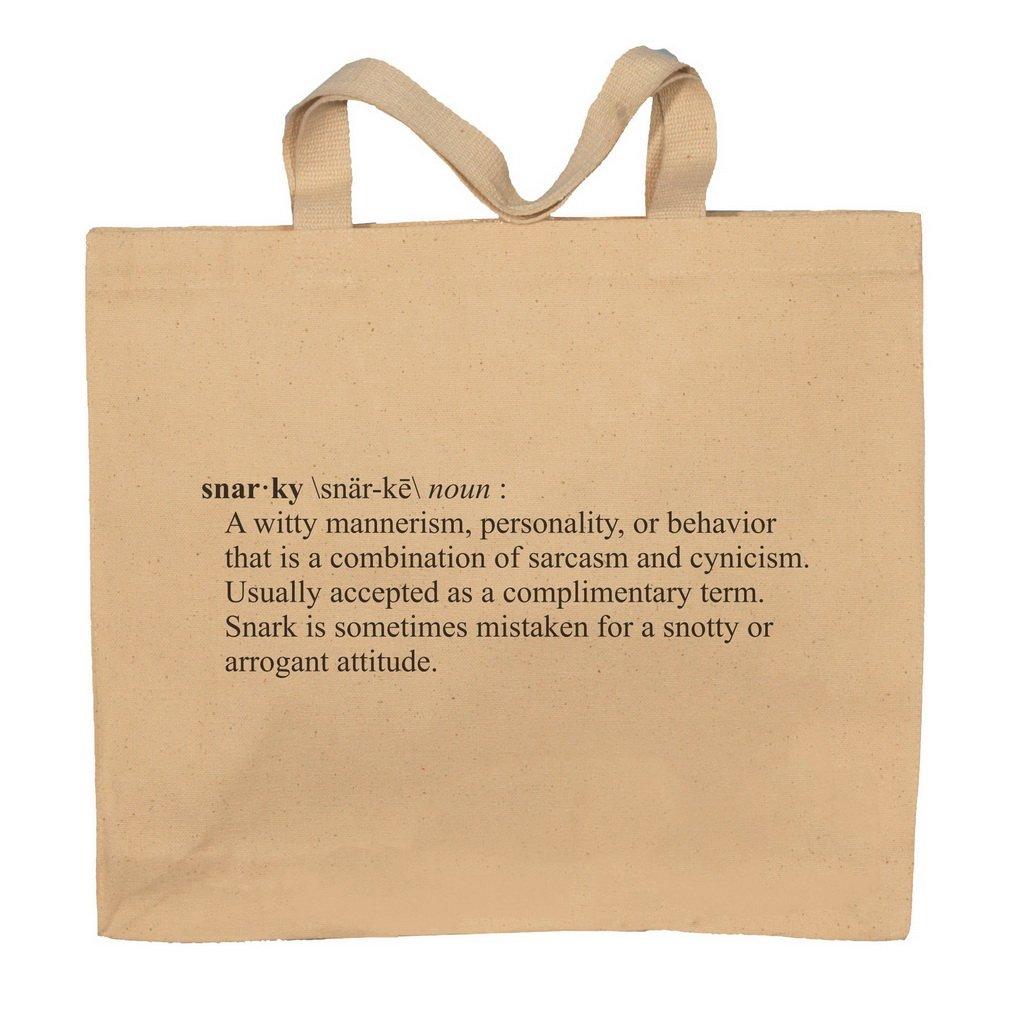 Snarky Funny Definition Totebag Bag