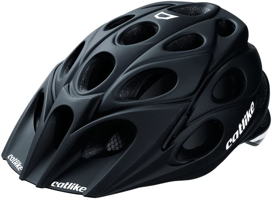 Catlike Leaf - Casco de ciclismo, color negro mate, talla MD (54 ...