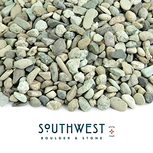 Cheap  Fire Pit Essentials Polished Pebbles | 5 Pounds of Natural, Decorative Stones..