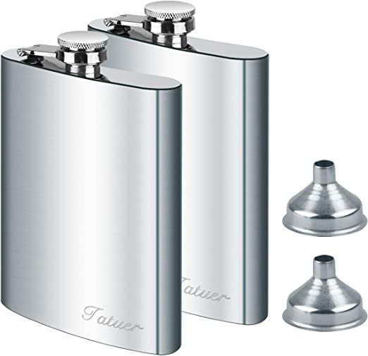 Silver 3in1 Small Funnel Set Portable Stainless Steel Pouring Kitchen Accessory2