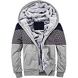Homme Hiver Chaud Polaires Doublé Sweats à Capuche Cotton Manteaux Doux  Blousons Sweat-Shirts Outwear 47023ca7167e