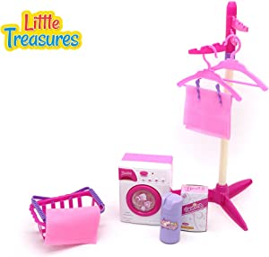Little Treasures Baby House Miniature Laundry Playset