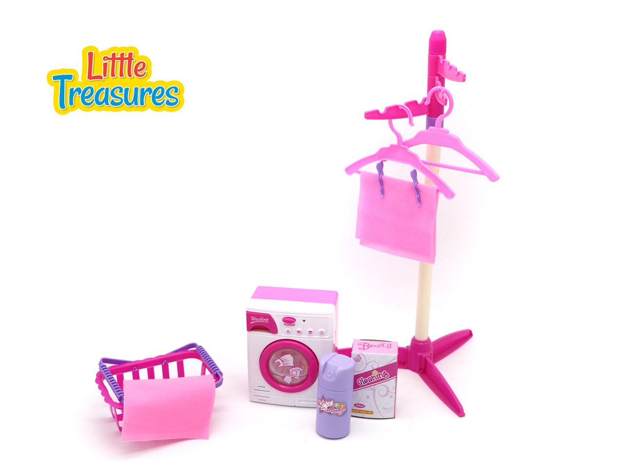 Little Treasures Baby House Miniature Laundry Playset by Little Treasures