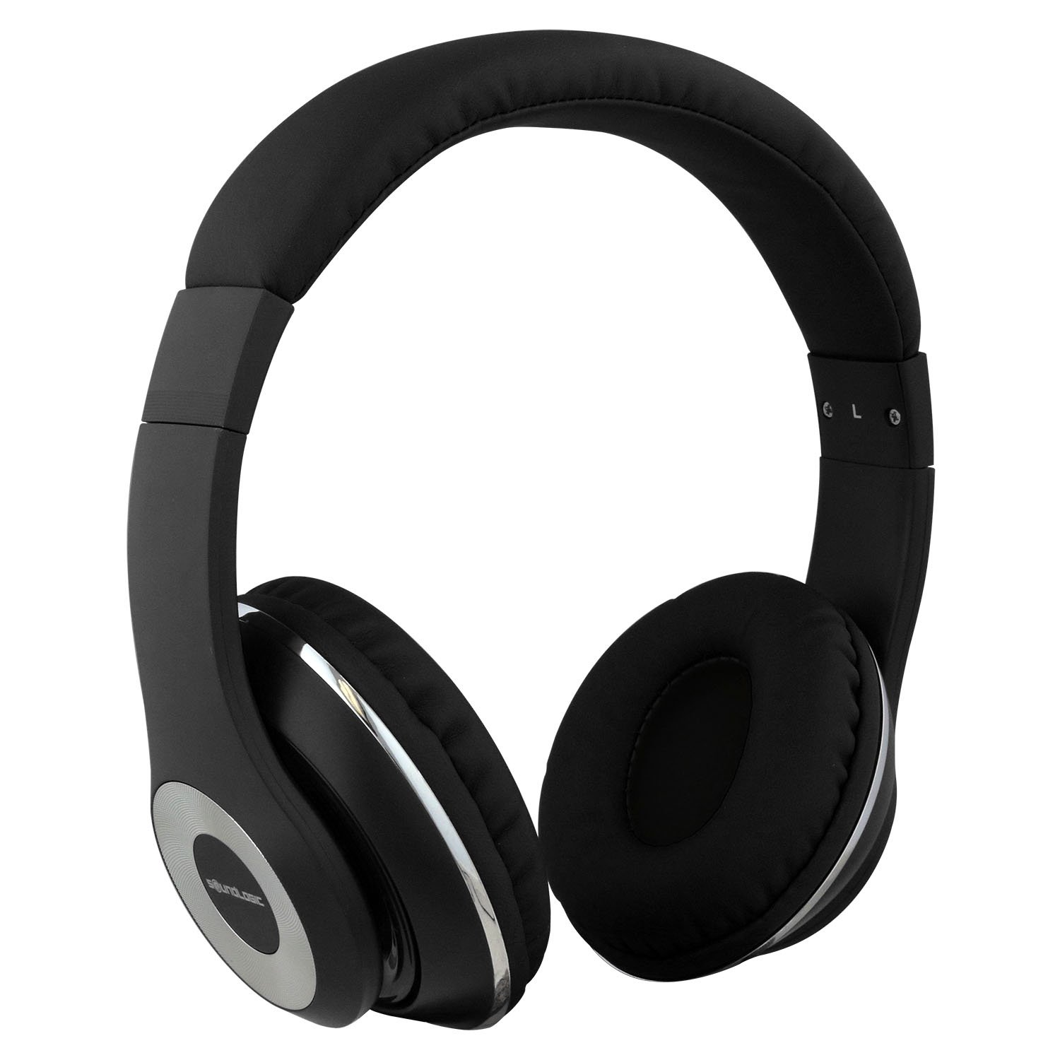 fc8b60a1a8b SoundLogic XT Dynabass Stereo Headphones with Built-In Microphone, Black:  Amazon.ca: Electronics