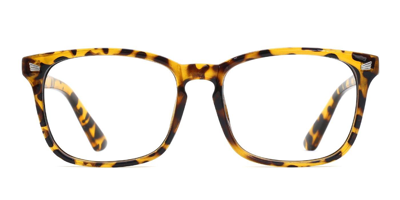 TIJN Stylish Wayfarer Non-prescription Glasses Eyeglasses Frame for Women Men 00005008