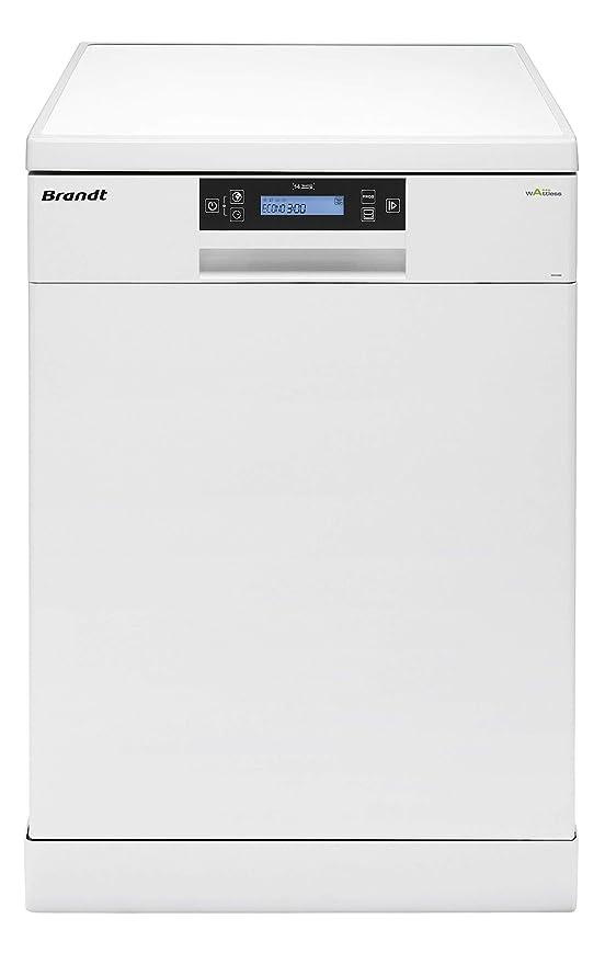 Lavavajillas 14 cubiertos blanco Brandt DFH14104W: Amazon.es ...