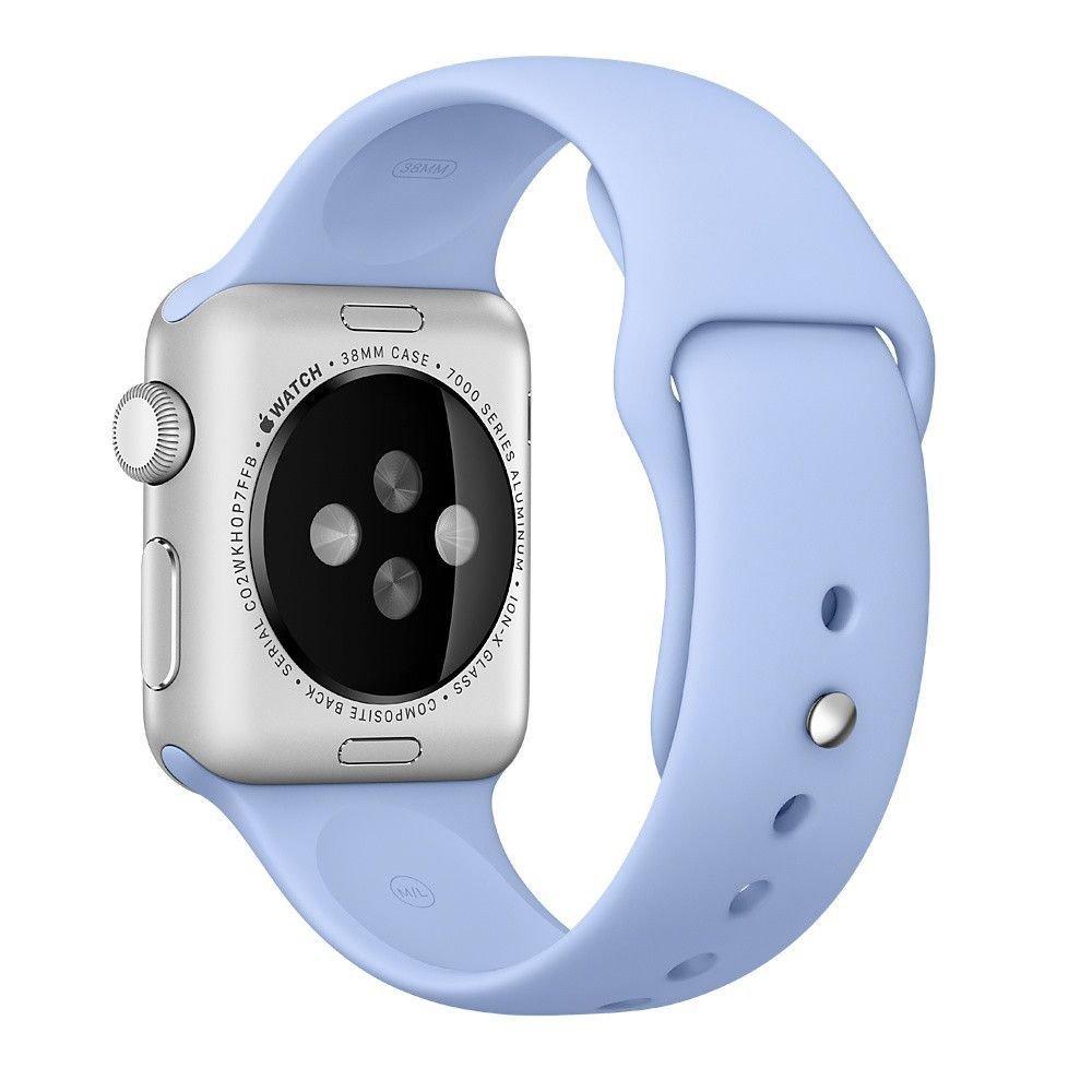 971dbfbfc5e Pulseira Sport em Silicone para relógio Apple Watch 42mm Series 3 2 1 (Azul  Escuro 42mm ML)  Amazon.com.br  Eletrônicos