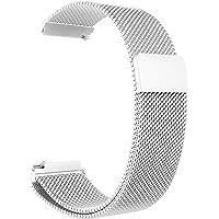 أوستيك / سوار / حزام معدني للساعات الذكية متوافق مع سامسونج جالاكسي 46 ملم / هواوي جي تي 2 / جير اس 3 فرونتير وكلاسيك…