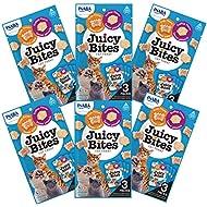 INABA Juicy Bites Scallop and Crab Flavor Cat Treats 18pk