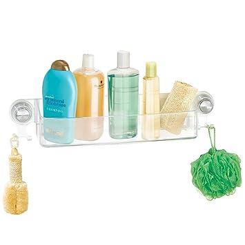 mdesign duschkorb zum hngen aus kunststoff die ideale duschablage fr shampoo schwmme rasierer - Duschzubehor Zum Hangen