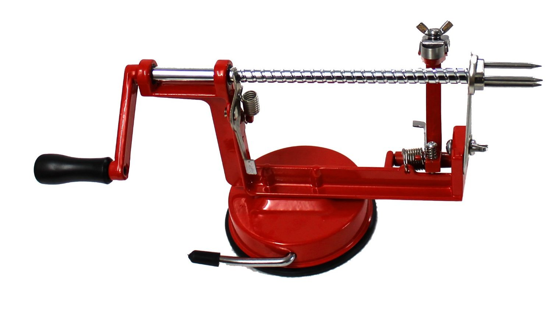 AROCCOM® Apple Potato Peeler Slicer Corer 3 in 1 Slinky Machine Kitchen Tool