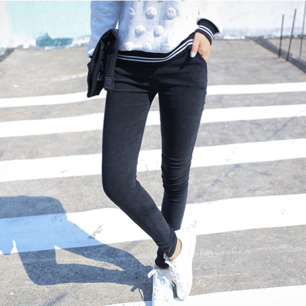 Amazon.com: Mtzyoa - Pantalones para mujer, elásticos, de ...