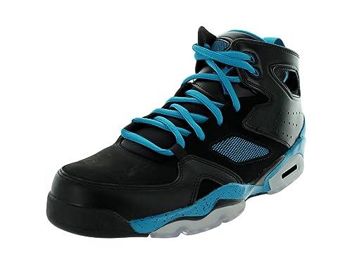 info for a42f4 a230d Nike Men s Jordan Flight Club  91 555475 017 Black Turquoise Black  Basketball (Men Size